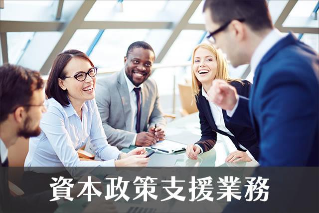 資本政策支援業務